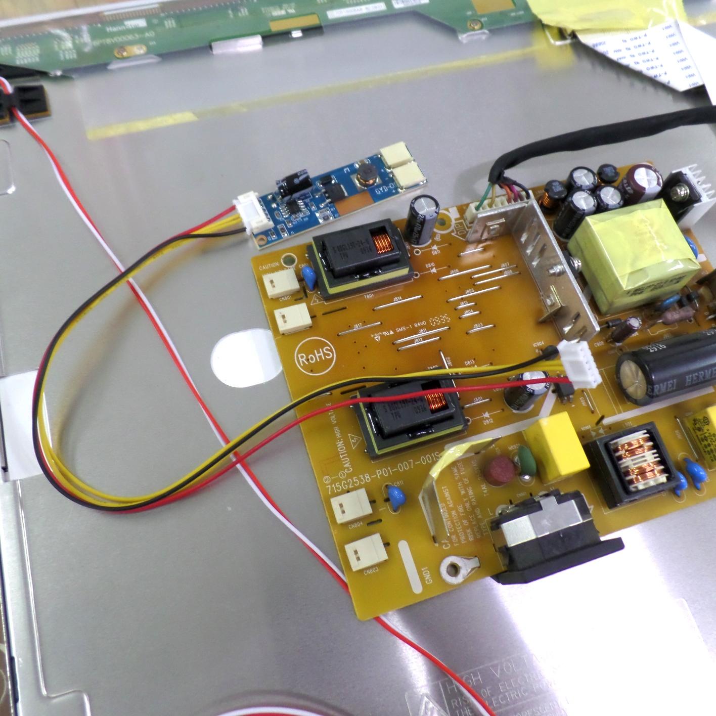 Инвертор монитора и драйвер LED