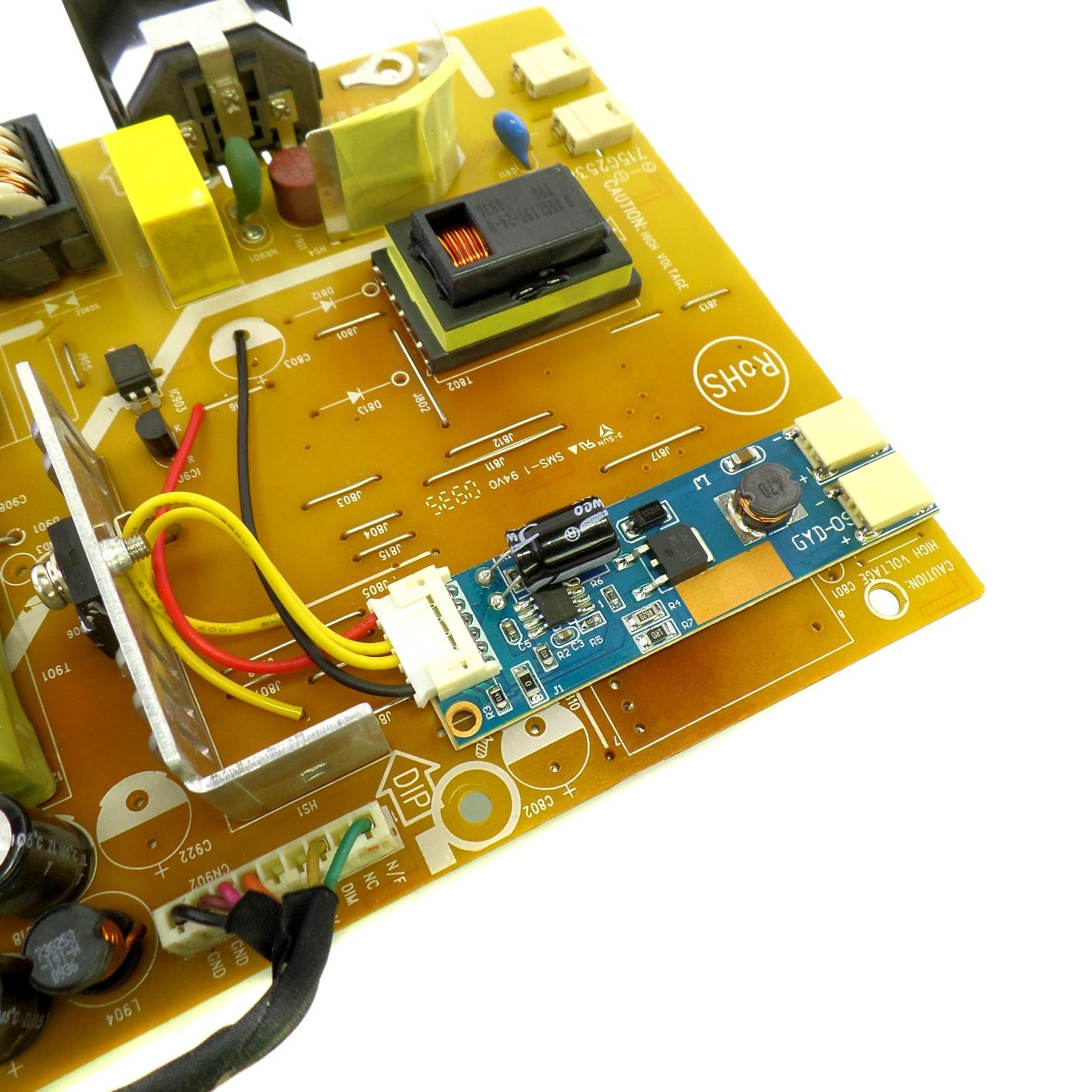 Драйвер LED вместо инвертора
